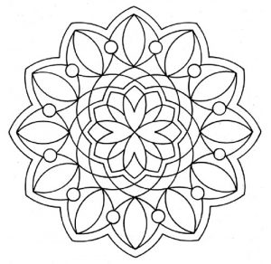 Free Easy Mandala Coloring Pages Free Coloring Pages For Kids Adults Preschoolers